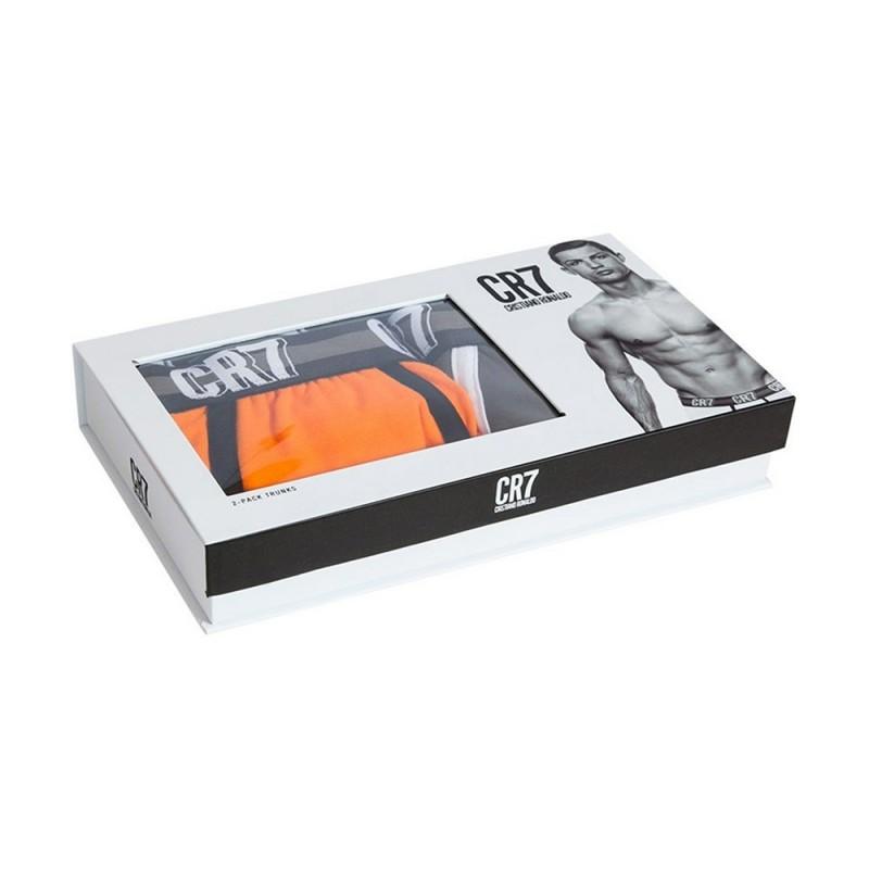 CR7 boxerky 2 pack oranžové