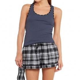 DKNY dámské pyžamo YI3013439 šedé