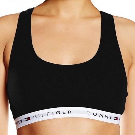Tommy Hilfiger podprsenka Cotton Iconic černá
