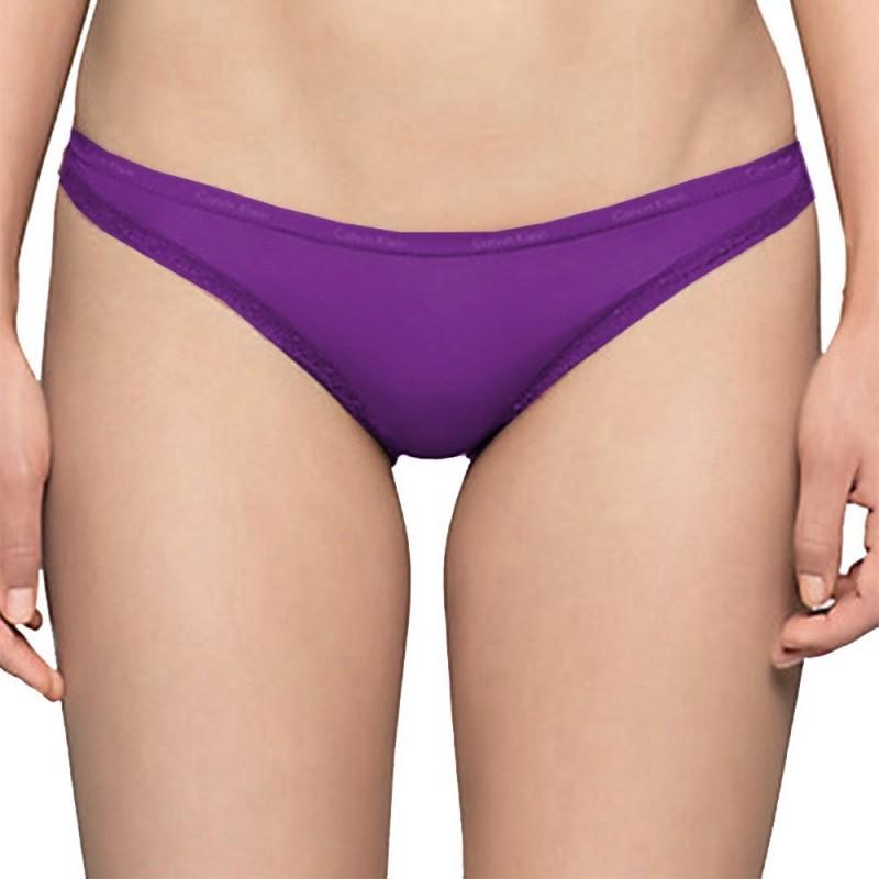 Calvin Klein kalhotky D3447E fialové
