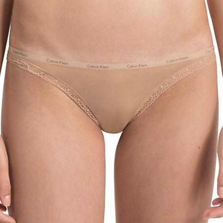 Calvin Klein tanga D3445E tělová