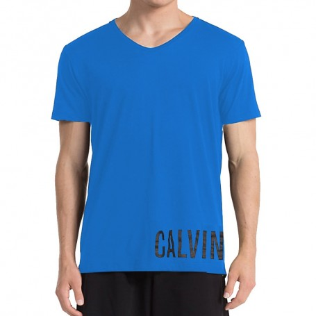 Calvin Klein pánské triko modré