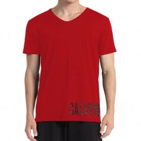 Calvin Klein pánské triko červené