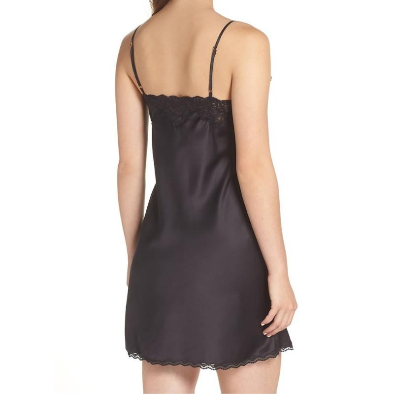 Ralph Lauren saténová košilka černá