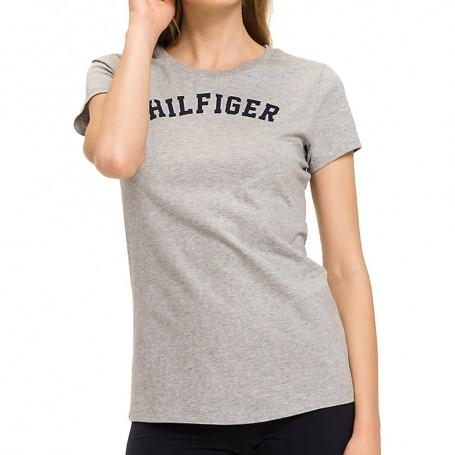 Tommy Hilfiger dámské triko šedé