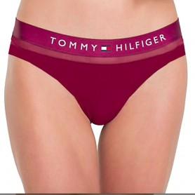 Tommy Hilfiger kalhotky Sheer Cotton vínové