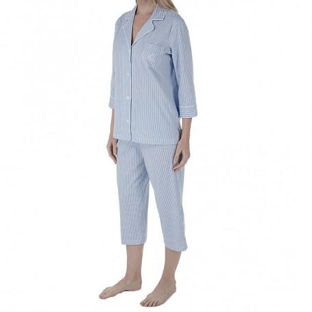Ralph Lauren dámské pyžamo modré