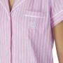 Ralph Lauren dámské pyžamo ILN91681 růžový proužek
