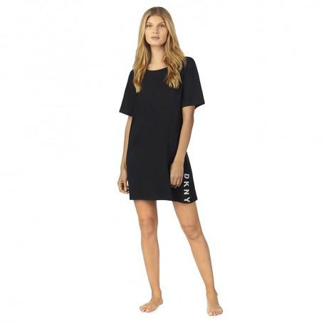 DKNY noční košilka YI2319415 černá