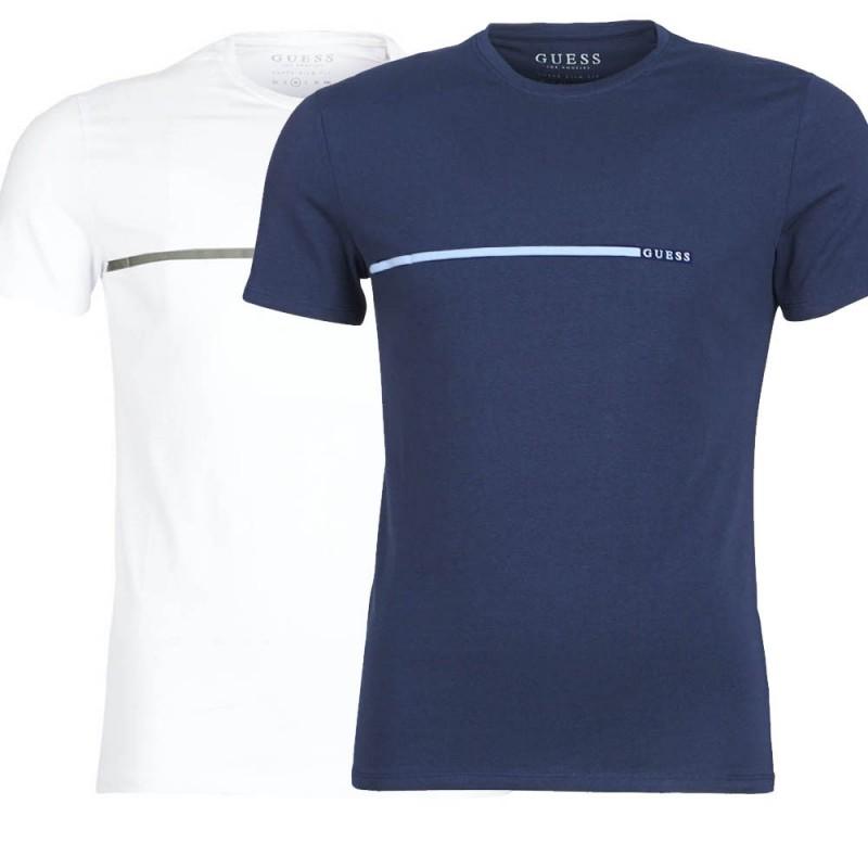 b69fcf00a2b1 Pánské bavlněné tričko Guess 2pack Velikost M Barva Multicolor