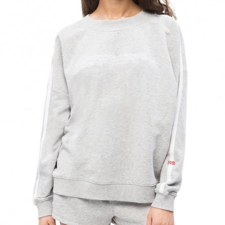 Calvin Klein dámská mikina QS6187E šedá