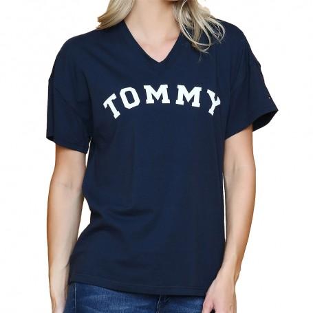 Tommy Hilfiger dámské tričko modré