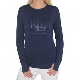 Ralph Lauren dámské triko ILN21745 modré