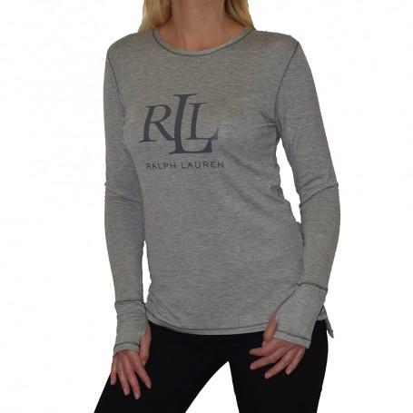 Ralph Lauren dámské triko ILN21745 šedé