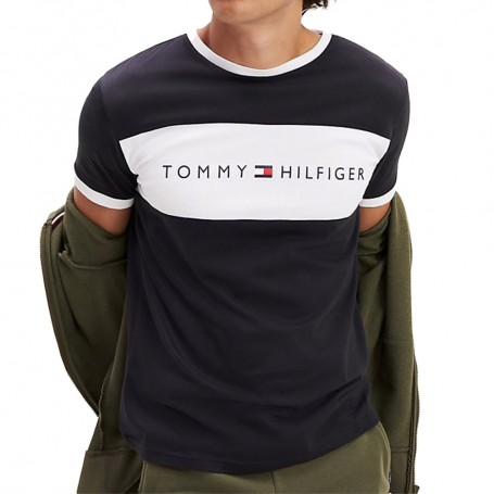 Tommy Hilfiger pánské tričko černé