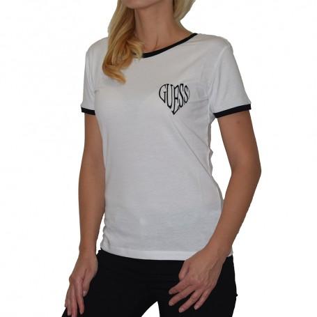 Guess dámské tričko bílé