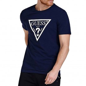 Guess pánské tričko U94M09 tmavě modré