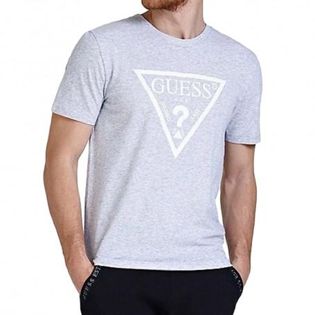 Guess pánské tričko U94M09 šedé