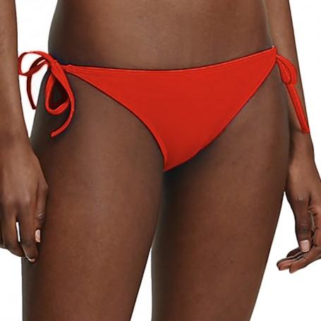 Calvin Klein dámské plavky 937 spodní díl červené