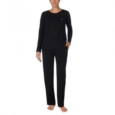 Ralph Lauren dámské pyžamo ILN92044 černé