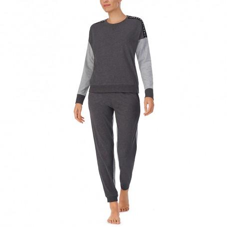 DKNY dámské pyžamo YI2922417 šedé