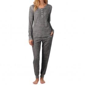DKNY dámské pyžamo YI2922447 šedé