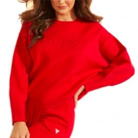 Guess svetr s dlouhým rukávem O94R00 červený