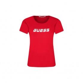 Guess dámské tričko O0BA71 červené