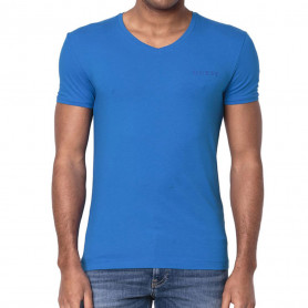 Guess pánské tričko U92M07 modré